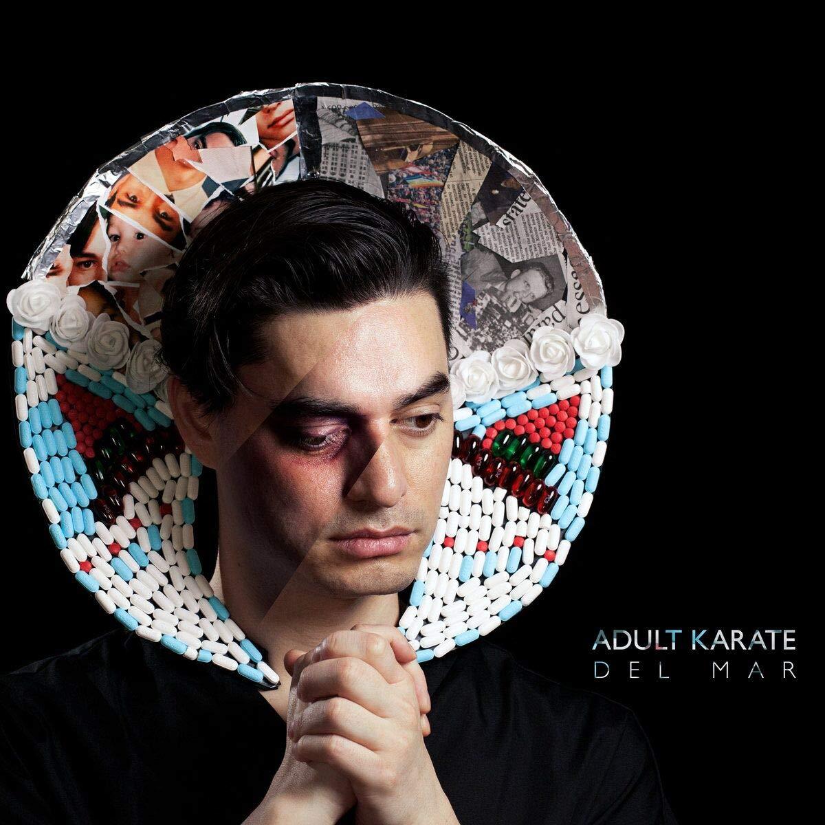 Vinilo : Adult Karate - Del Mar (clear Vinyl) (Clear Vinyl)