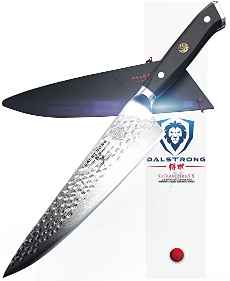 Dalstrong Chef S Knife 10 25 Large Shogun Series X Professional Gyuto Damascus Japanese Aus 10v Super Steel Vacuum Heat Treated 67 Layers