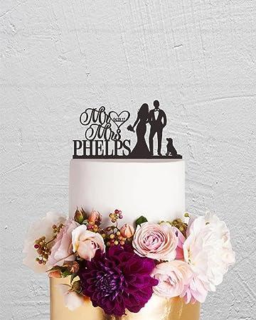 Qidushop Herr Und Frau Hochzeit Tortenaufsatz Braut Und Brautigam