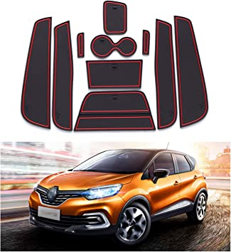 Yee Pin Car Mats Compatible With Renault Captur Suv 2014 2017
