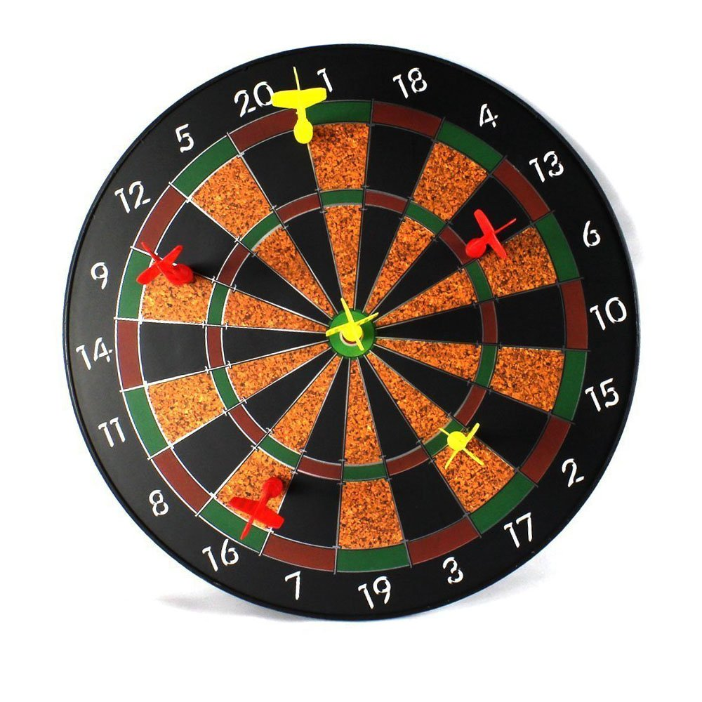 TDH Kids Safe Magnetic Dart, Classic Magnetic Dartboard Game Suit for Whole Family