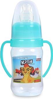 Mamadeira 240 ml Super Higiênica Decorado Orto Silicone Blister, Disney Baby Go, Verde