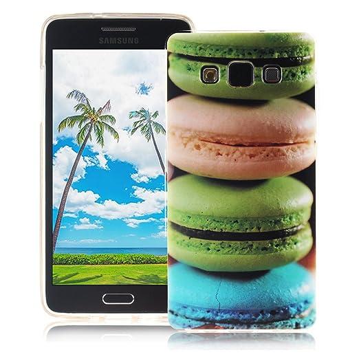 15 opinioni per XiaoXiMi Cover Samsung Galaxy A3 2015 SM-A300F Custodia in Silicone Gomma Gel