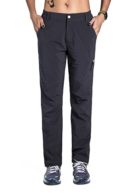 2b1b5f7841a8e Unitop Women s Outdoor Soft Quick Dry Work Pants Black XS 30.5 quot  ...