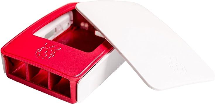 5PCS / LOT Hot Raspberry Pi 3 carcasa Caja de ABS oficial Raspberry pi 2 carcasa de la caja de la Fundación Raspberry Pi: Amazon.es: Bricolaje y herramientas