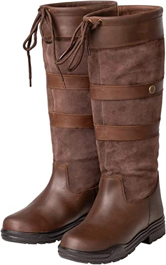 Ladies Suede Boots Womens Catesby High