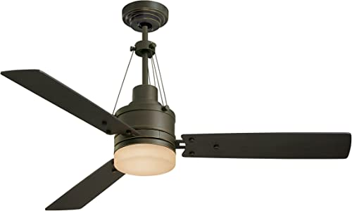 Emerson CF205LGES Highpointe 54-inch Modern Ceiling Fan, 3-Blade Ceiling Fan with LED Lighting and 4-Speed Remote Control,Golden Espresso LED Lighting
