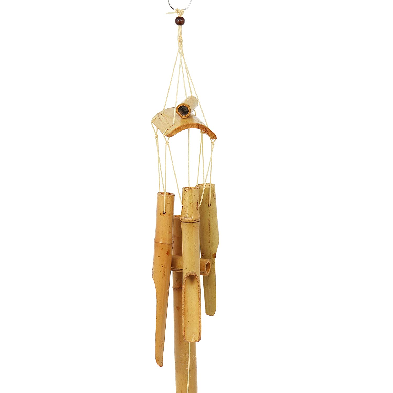 com-four/® 2 Les carillons /éoliens en Bambou attirent Tous Les Regards dans Votre Jardin la s/élection varie