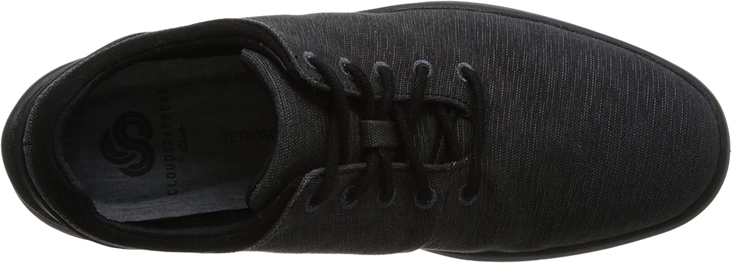 Clarks Tunsil Ace, Sneakers Basses Homme Noir