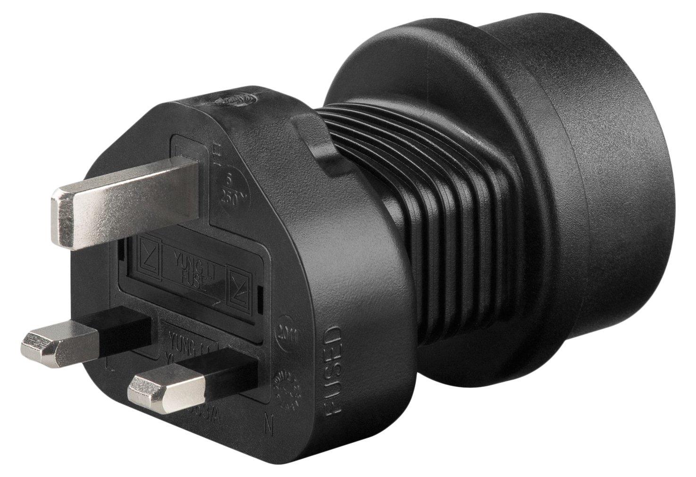 GOOBAY power adaptor - Schuko jack (Type F, CEE 7/4) > Switzerland plug (type J, SEV 1011) power adaptorSchuko jack (Type F, CEE 7/4) > Switzerland plug (type J, SEV 1011) 95304 1084359