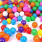 Schramm 200er Pack Bälle für Bällebad 6cm Bälle für Kinder Bällebäder Babybälle Plastikbälle Ballpool Ohne Weichmacher