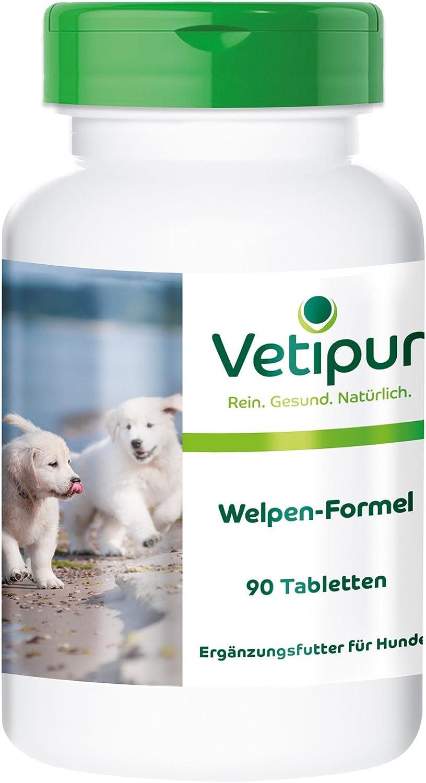 Vetipur Fórmula para Cachorros - 90 Comprimidos para Perros - ¡Calidad Alemana Garantizada!