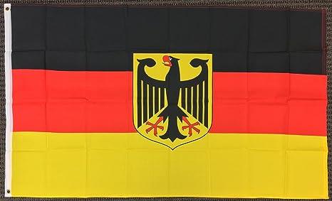 3 x 5 bandera de Alemania con águila alemana Banner ...