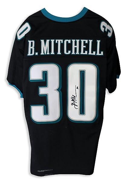 457c99ebd62 Brian Mitchell Philadelphia Eagles Autographed Black Jersey - APE ...