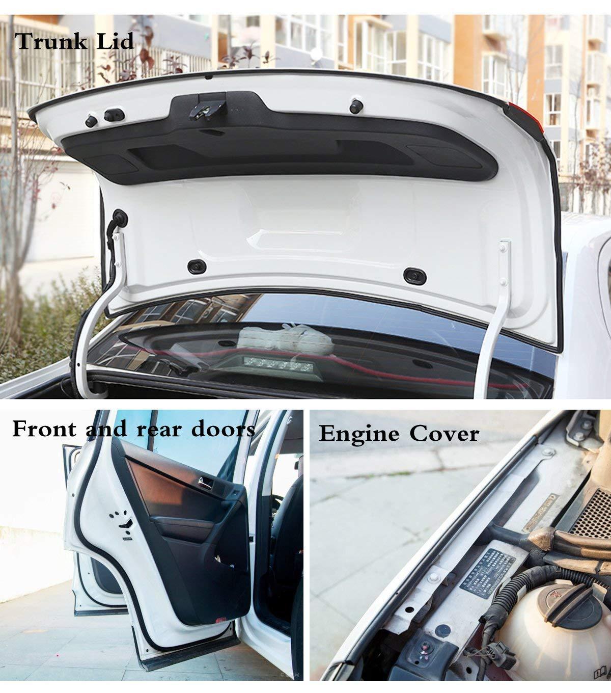 HengJia Auto Parts L Shape  rubber seal strip,Auto automatic car door weather strip,automotive Window Door Soundproofing weather seal 16.4Ft auto weatherstrip