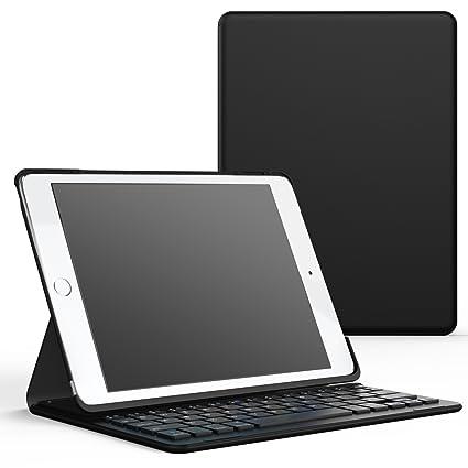 MoKo iPad Pro 9.7 / iPad Air 2 Funda con Teclado - Inalámbrico Bluetooth Ultra-