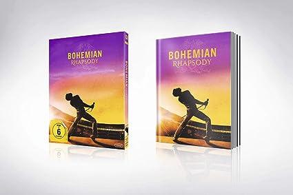 Bohemian Rhapsody Artbook Blu Ray Limited Edition Amazonde