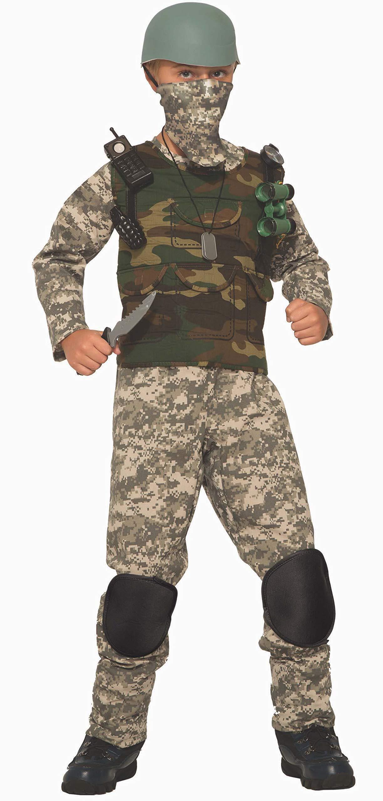 Forum Novelties Combat Trooper Child's Costume, Large by Forum Novelties