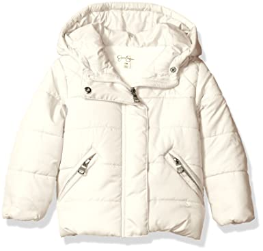 b31452fbd Amazon.com  Jessica Simpson Baby Girls  Bubble Jacket with Diamond ...