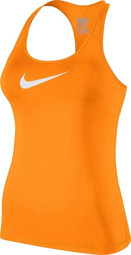 Petit Swoosh Flex Vif Femme Tank Orange Nike Débardeur Sz018n0w
