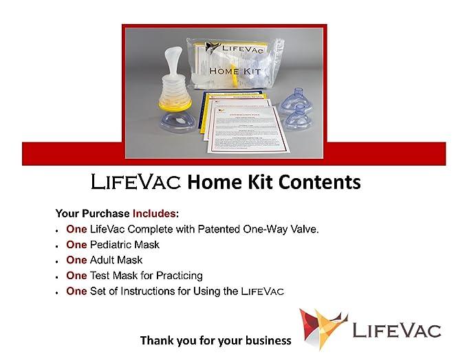 LifeVac- Emergencia en Asfixia por atragantamiento: Amazon.es: Salud y cuidado personal
