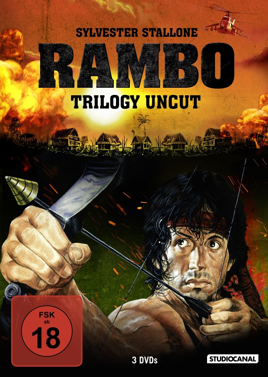Rambo Trilogy (Uncut, 3 Discs) [Alemania] [DVD]: Amazon.es: Sylvester Stallone, Richard Crenna, Ted Kotcheff, George Pan Cosmatos, Peter MacDonald, Sylvester Stallone, Richard Crenna: Cine y Series TV