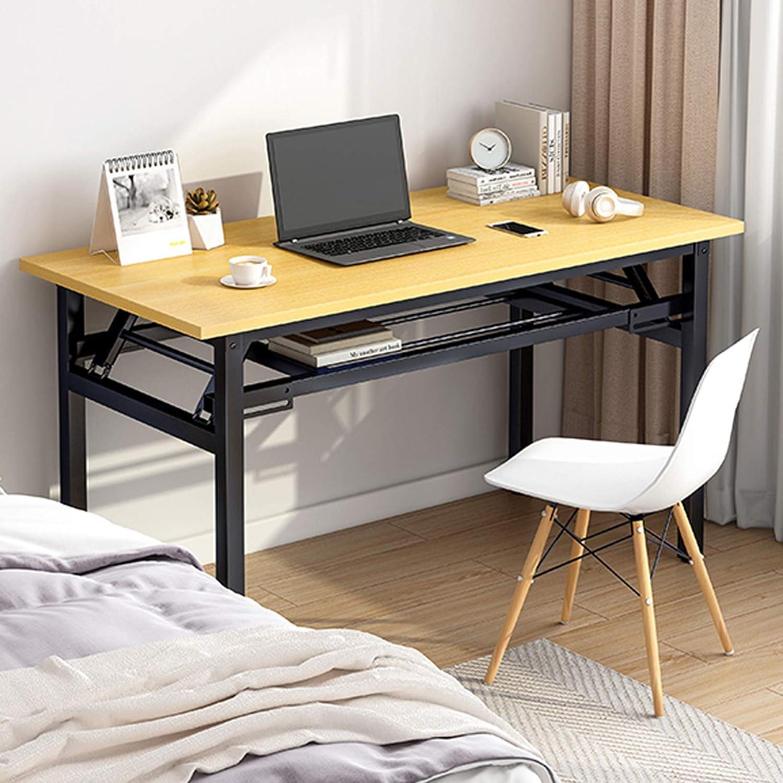 Insputer Mesa de Escritorio Plegable portátil para computadora Escritorio Plegable para Estudiantes 80 x 40 x 75 cm Escritorio Plegable para computadora portátil No Requiere ensamblaje