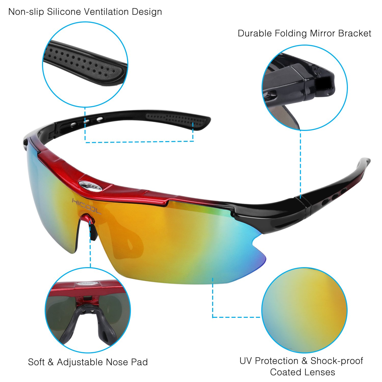 6ccd1e74675 HiCool Cycling Glasses