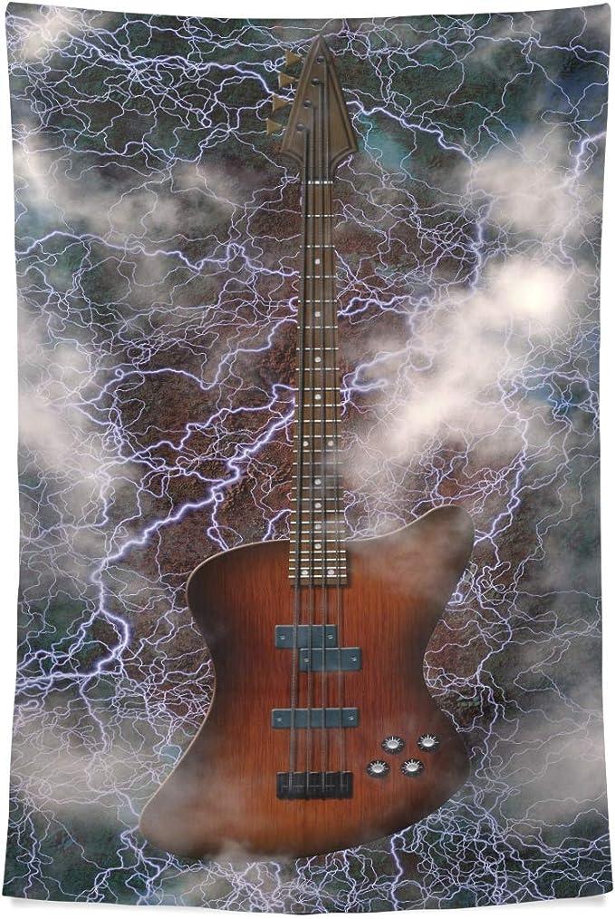 Dormitorio Tapiz Jazz Rock Guitarra Eléctrica Fresca Para Niño ...