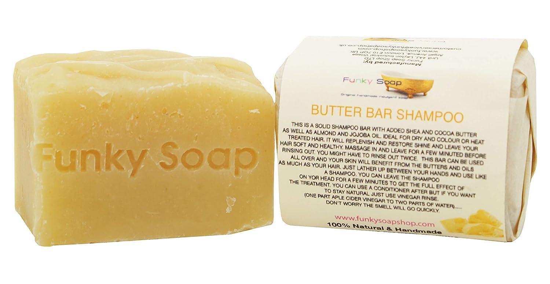Handcrafted Butter Bar Shampoo 120g