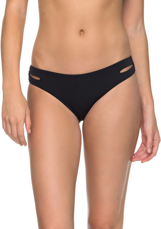 Roxy Womens Solid Softly Love 70s Bikini Bottom