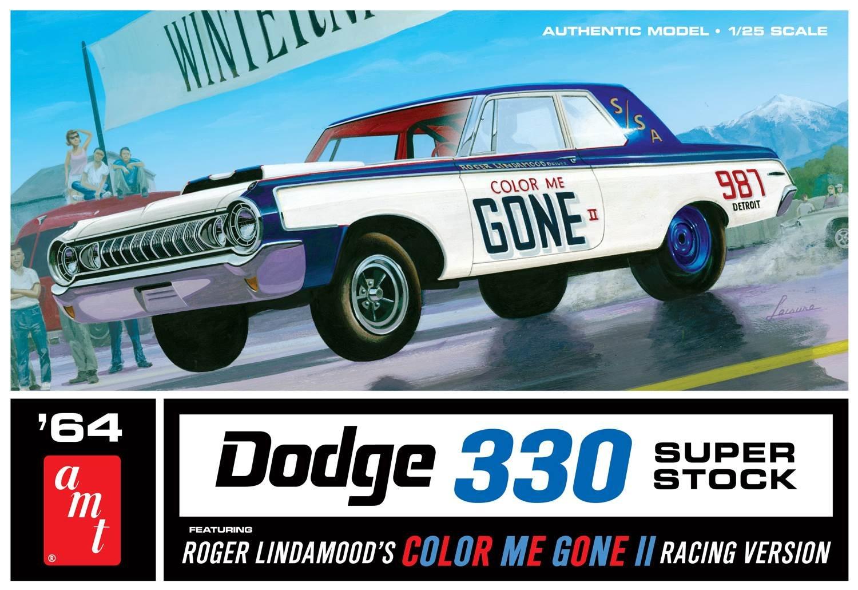 AMT AMT987 1  25 4.988,6 cm Colour Me Gone Dodge 300 Superstock Giocattolo
