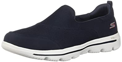 Skechers Damen Go Walk Evolution Ultra Reach Slip On Sneaker