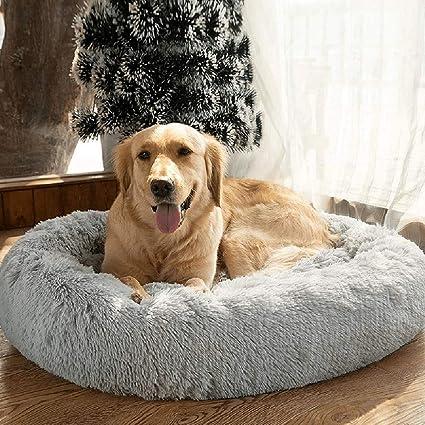 ailotrd panier chien lit pour chien coussin pour petit moyen grand et tres grand chien panier duveteux lit pour chat animalerie paniers plus