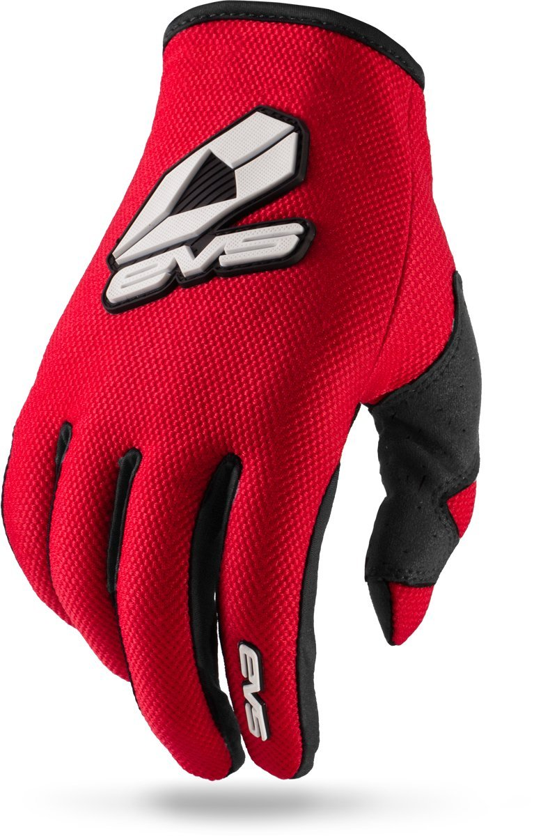 EVS Sports Sport Gloves (Red, Large)
