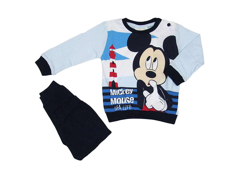 46200 Disney Baby Pigiamino Neonato Primaverile 6//24mesi Mickey Mouse Art Disney