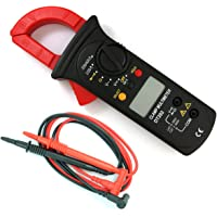 NUZAMAS Digital Clamp Meter | Auto-Ranging Multimeter | AC/DC Voltage&Current, Resistance, Diode Test, Non-Contact…