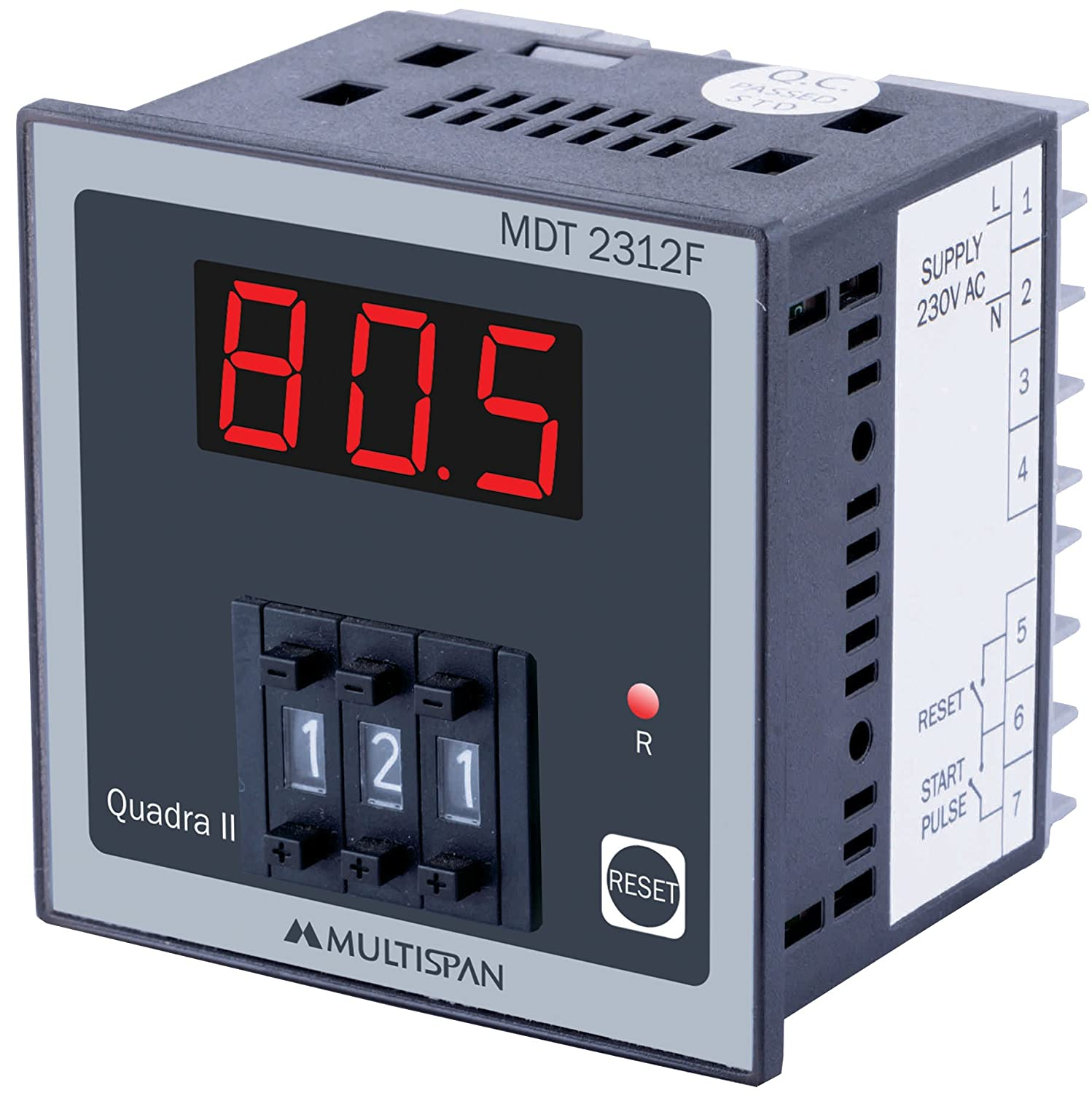 MULTISPAN DIGITAL PRESETTABLE TIMER_MDT-2312F: Amazon in