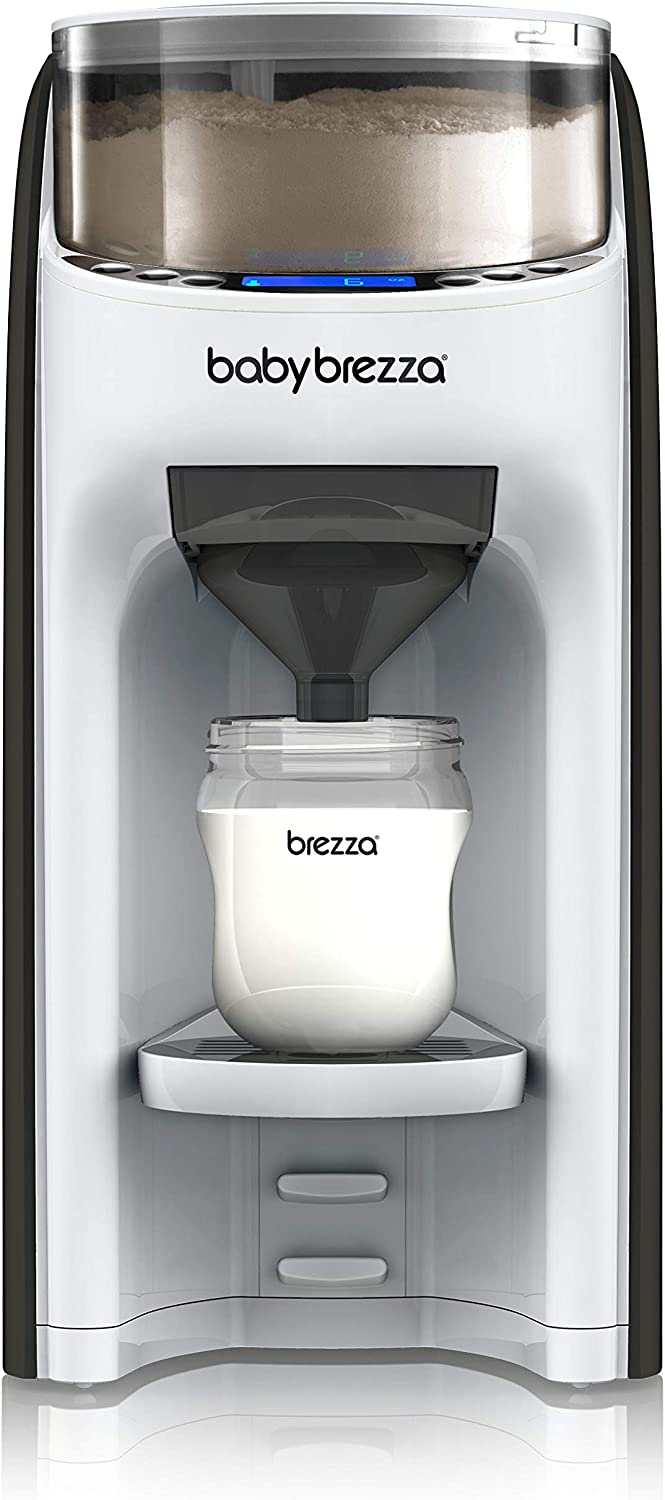 Easily Make Bottle with Automatic Powder Blending New and Improved Baby Brezza Formula Pro Advanced Formula Dispenser Machine Automatically Mix a Warm Formula Bottle Instantly