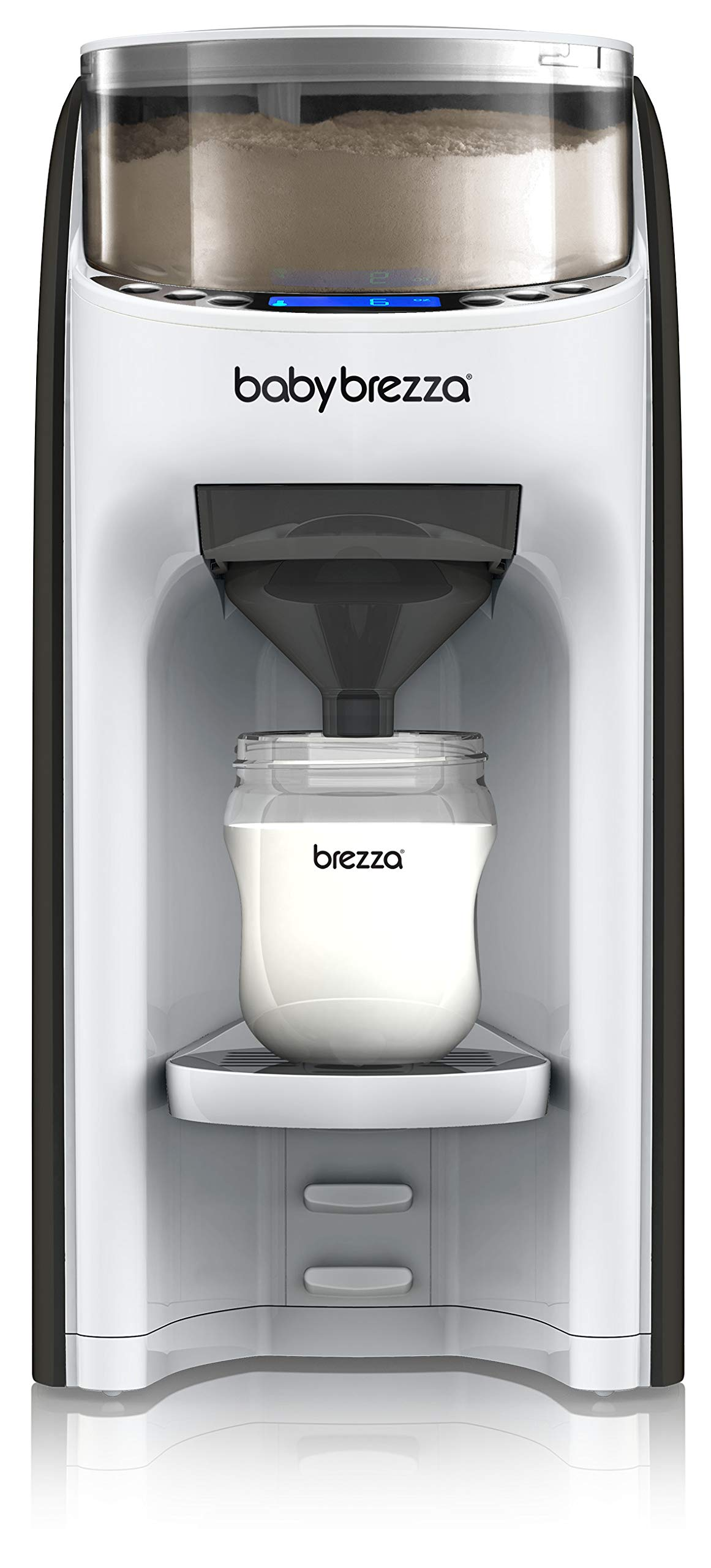 New and Improved Baby Brezza Formula Pro Advanced Formula Dispenser Machine - Automatically Mix a Warm Formula Bottle Instantly - Easily Make Bottle with Automatic Powder Blending by Baby Brezza (Image #1)