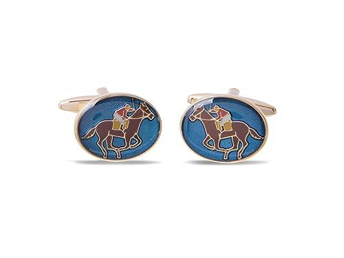 Blind Badger Gemelos con Insignia de Polo Horse, Regalo de ...