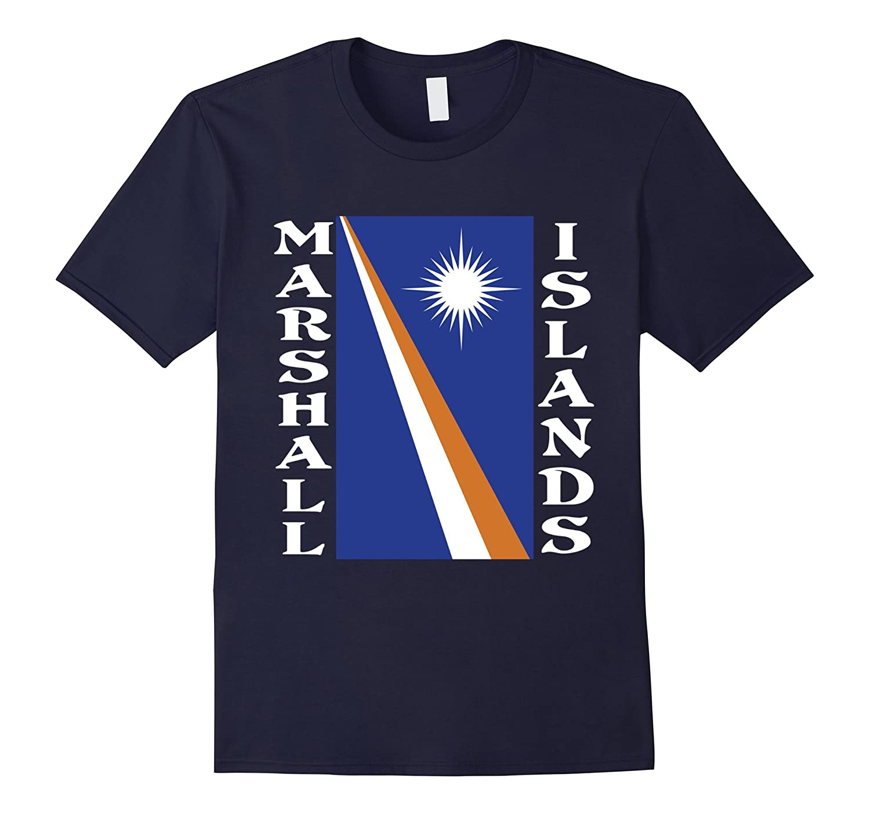 Marshall Islands Marshall Islander Flag T-Shirt-Art