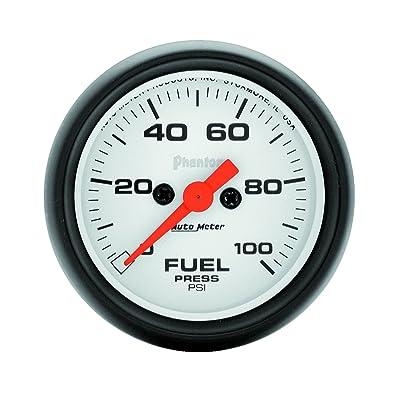 Auto Meter 5763 Phantom Electric Fuel Pressure Gauge: Automotive