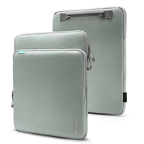 2db4545b9e60 tomtoc 360° Protection Laptop Sleeve Designed for 15 Inch New MacBook Pro  with USB-C A1707 A1990, with Handle & Organized Pocket for MacBook ...