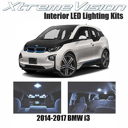XtremeVision BMW I3 2014 2017 8 Pieces Cool White Premium Interior LED Kit