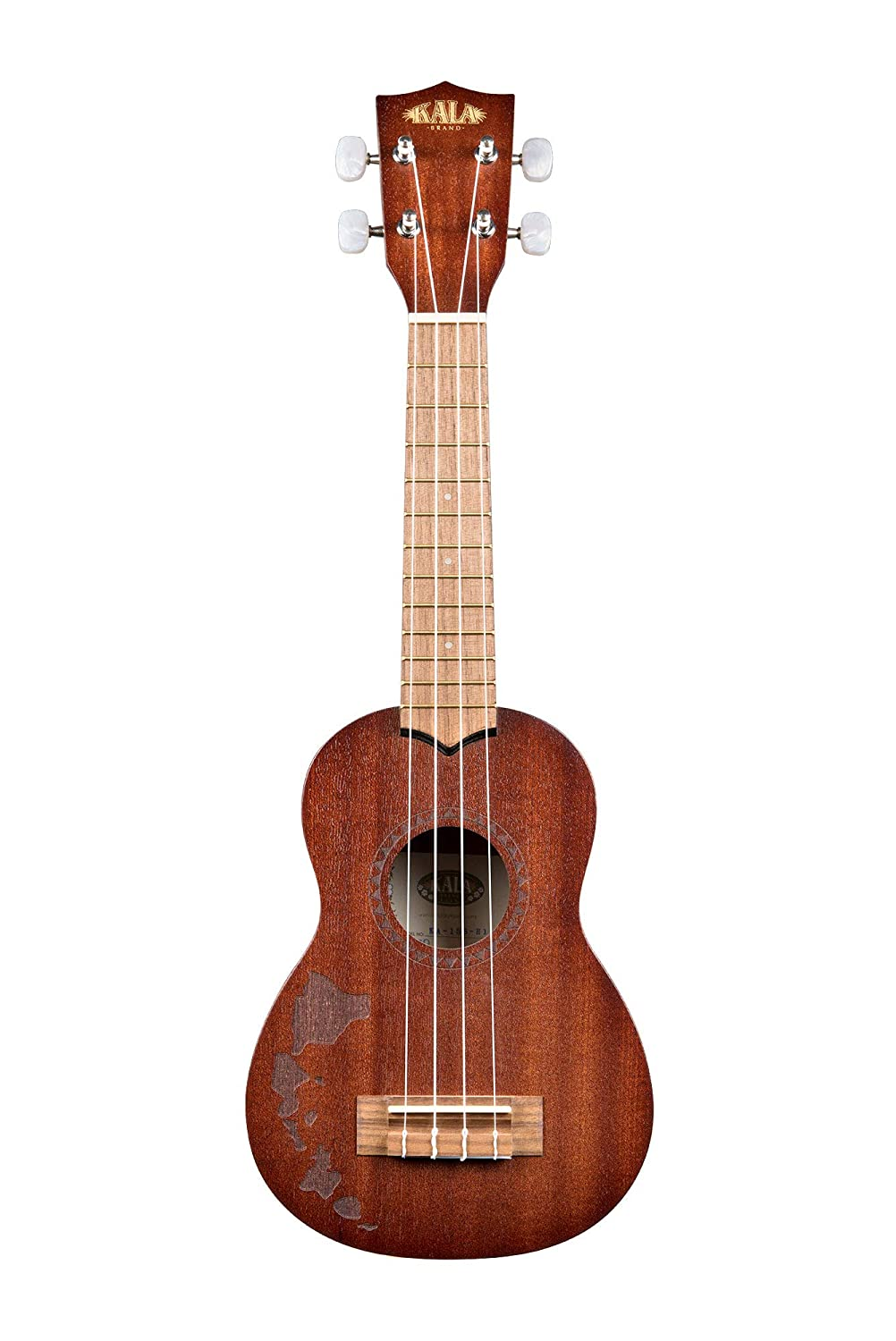 Official Kala Learn to Play Ukulele Concert Starter Kit, Light Mahogany – Includes online lessons, tuner, and app Kala Brand Music Co. KALA-LTP-C