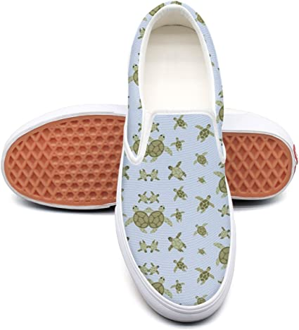 seventtynine Turtle Homes Classic Women Canvas Slip-On Shoes Sneaker