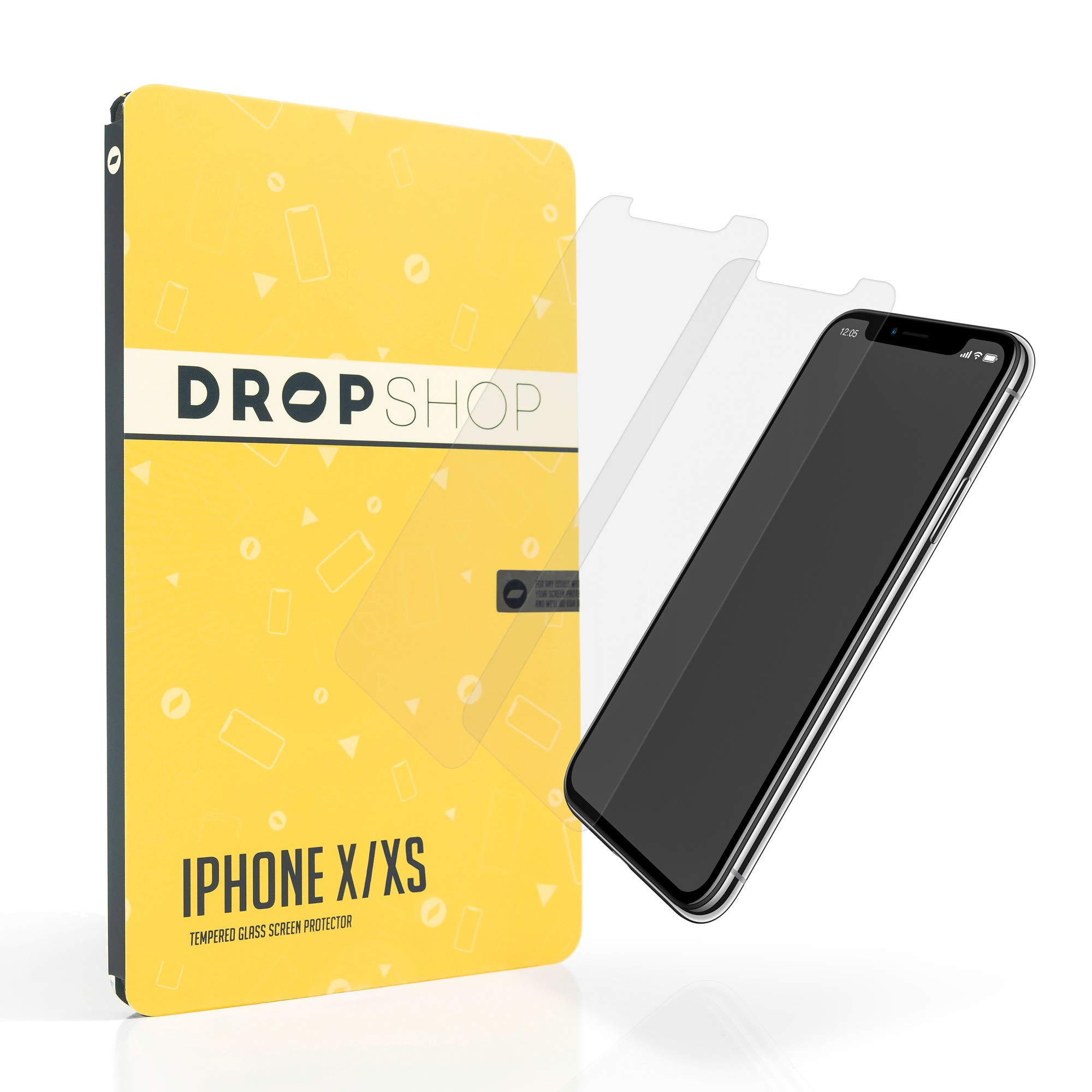 Vidrio Templado Para Iphone x/xs [2 Un.] DROP SHOP