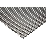 """Online Metal Supply 304 Stainless Steel Perforated Sheet .035"""" (20 ga.) x 8"""" x 12"""" - 1/8"""" Holes"""