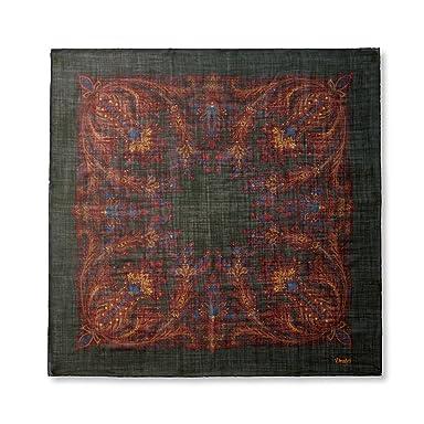 Wool Silk Scarf: Loden